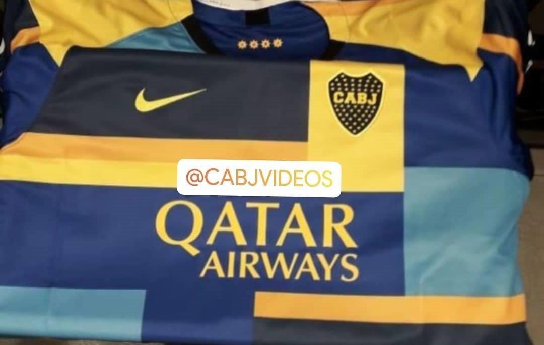 Camisa mashup do Boca Juniors 2019 Nike abre