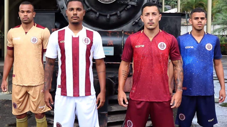Camisas da Desportiva Ferroviária 2019-2020 Ícone Sports abre
