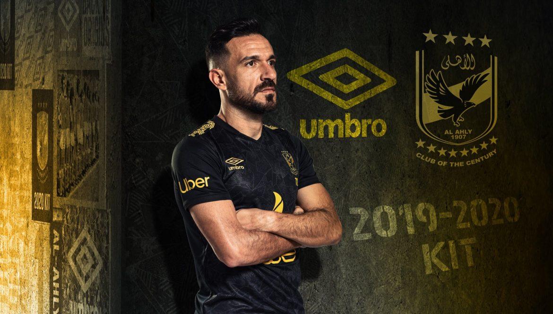 Camisas do Al Ahly 2019-2020 Umbro