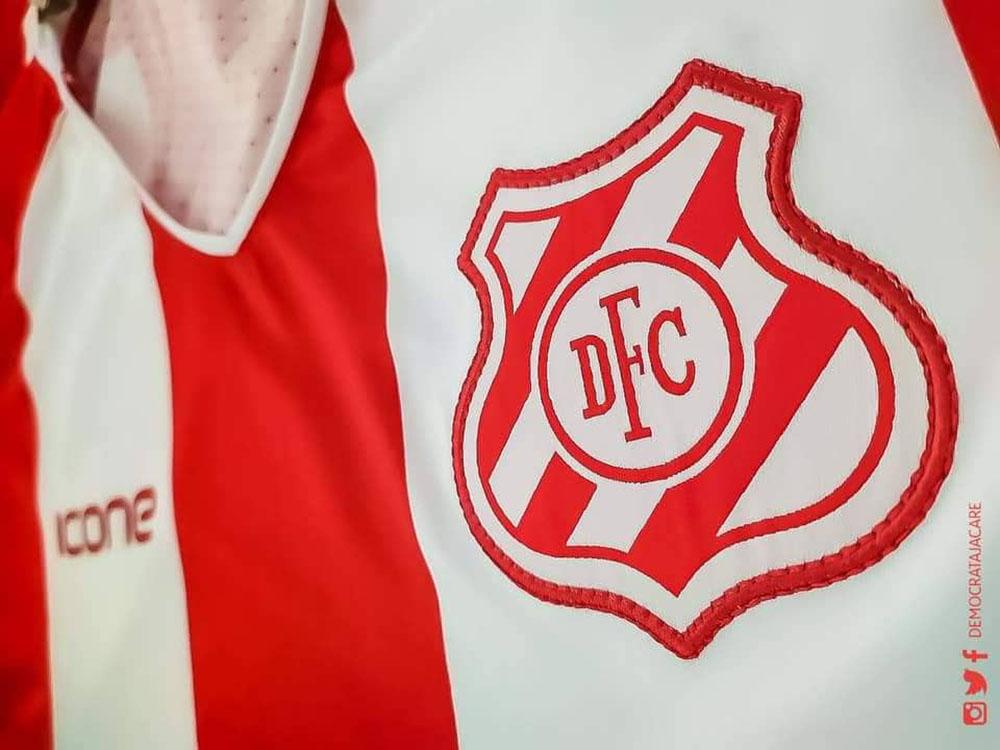 Camisas do Democrata de Sete Lagoas 2019-2020 Ícone Sports Titular abre2