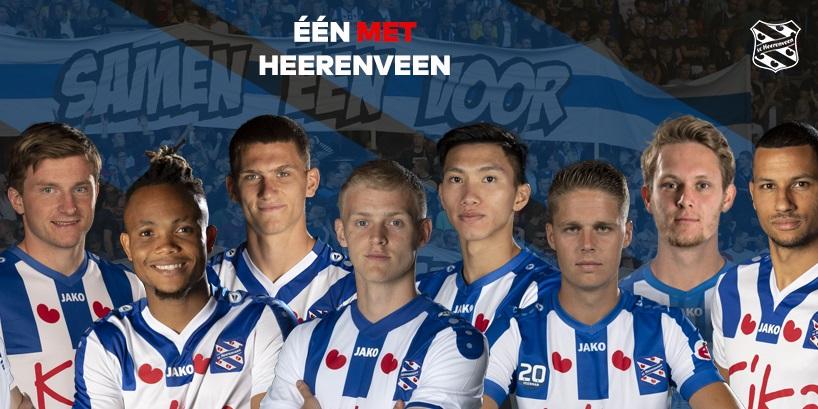 Camisas do Heerenveen 2019-2020 JAKO