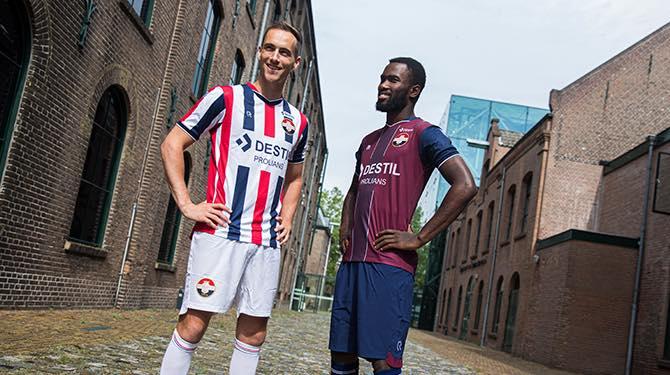 Camisas do Willem II 2019-2020 Robey