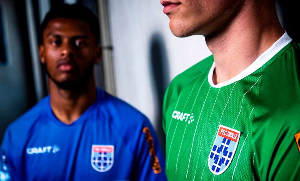 Camisas do Zwolle 2019-2020 Craft