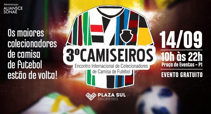 Camiseiros: 3º Encontro de Colecionadores de Camisas de Futebol