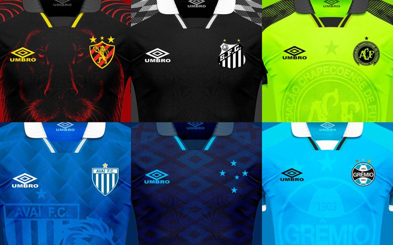 Canal 95 Terceiras camisas Umbro 2019-2020