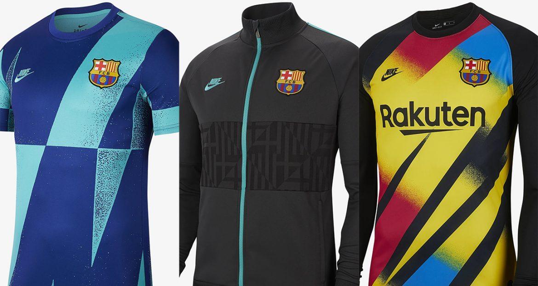 Coleção do Barcelona para a Champions League 2019-2020 Nike