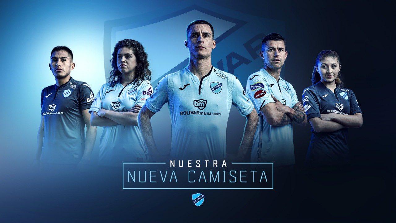 Novas Camisas Do Club Bolívar 2019 2020 Joma Mantos Do Futebol