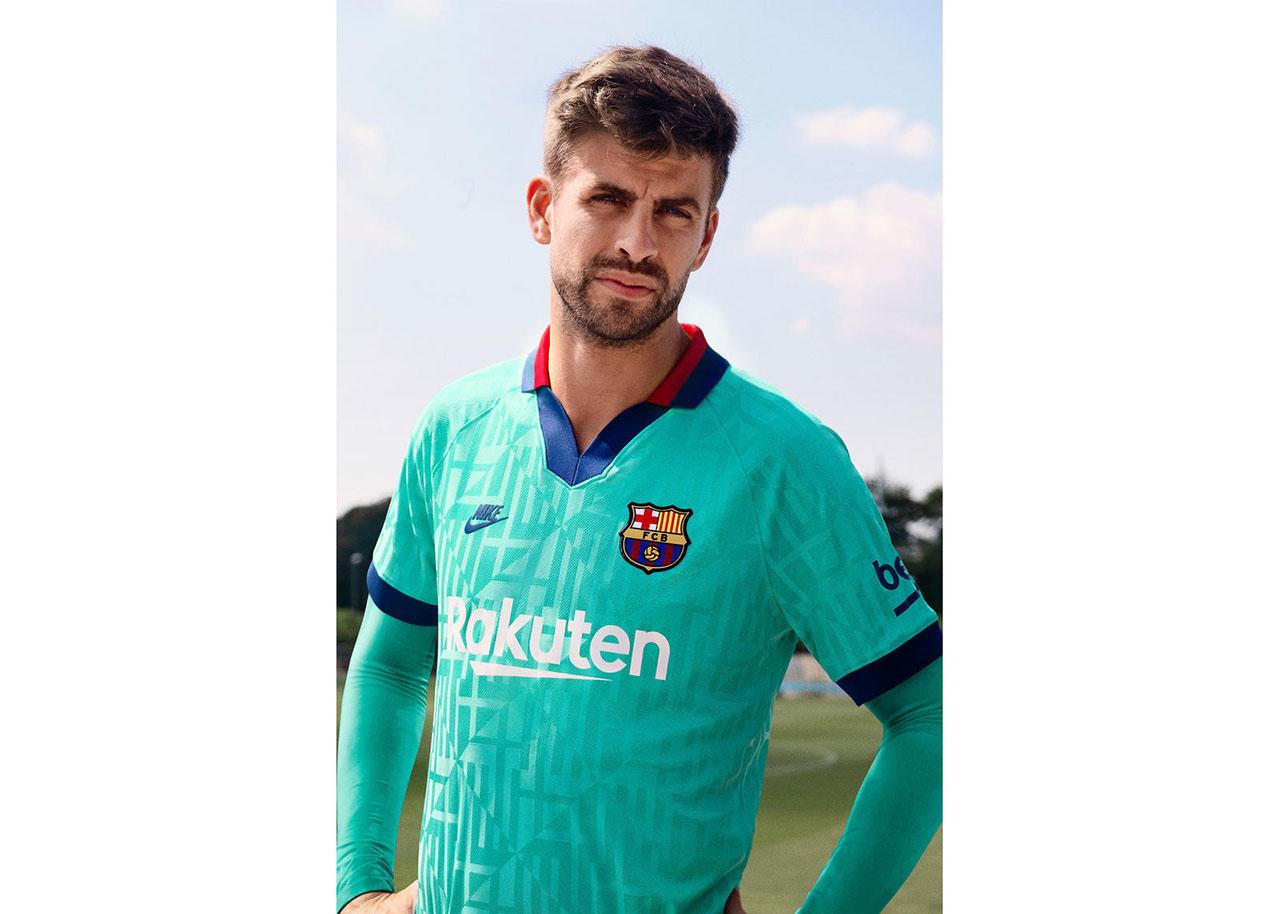 Terceira Camisa Verde Do Barcelona 2019 2020 Nike Mantos Do Futebol