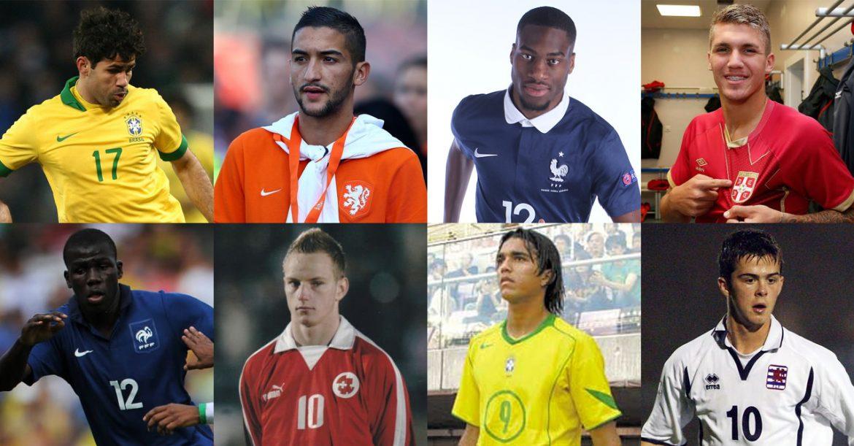Jogadores que vestiram a camisa de mais de uma seleção