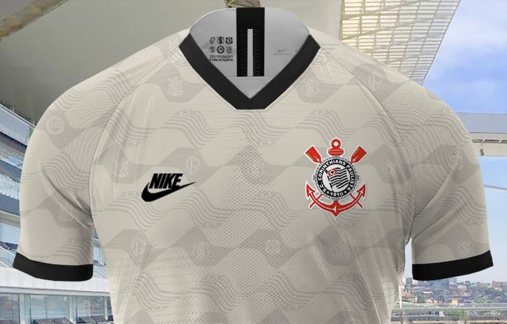 Leitor MDF: Terceira camisa do Corinthians 2019-2020 Nike (DJ'Z Design)