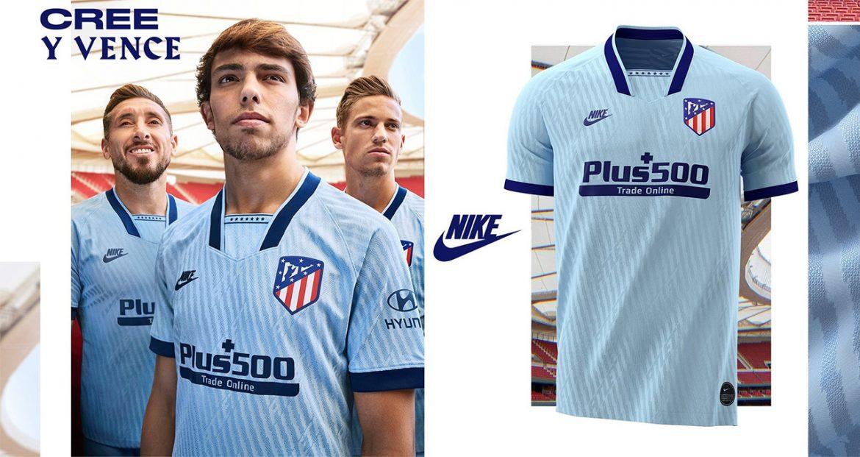 Terceira camisa do Atlético de Madrid 2019-2020 Nike abre