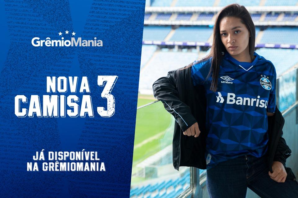 Terceira camisa do Grêmio 2019-2020 Umbro