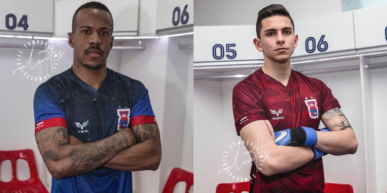 Terceira camisa do Paraná Clube 2019-2020 Valente