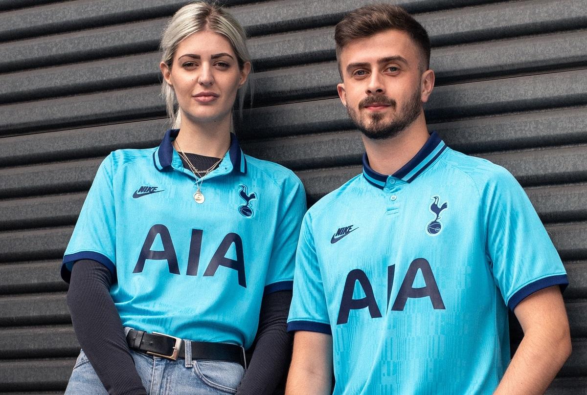 Terceira Camisa Do Tottenham 2019 2020 Nike Mantos Do Futebol