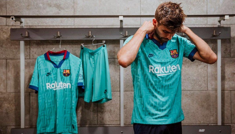 Terceira camisa verde do Barcelona 2019-2020 Nike
