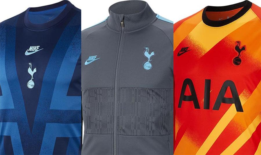 Coleção do Tottenham para a Champions League 2019-2020 Nike