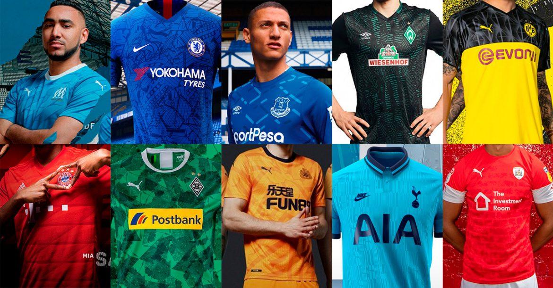 TOP 10: Camisas 2019-2020 que homenageiam estádios