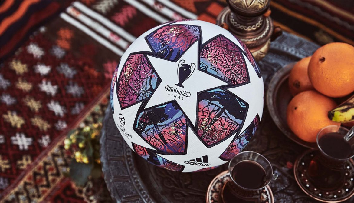 Bola da final da Champions League 2020 Adidas Istambul 1