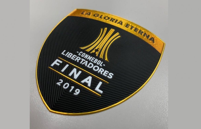 CONMEBOL divulga patch da final da Libertadores 2019