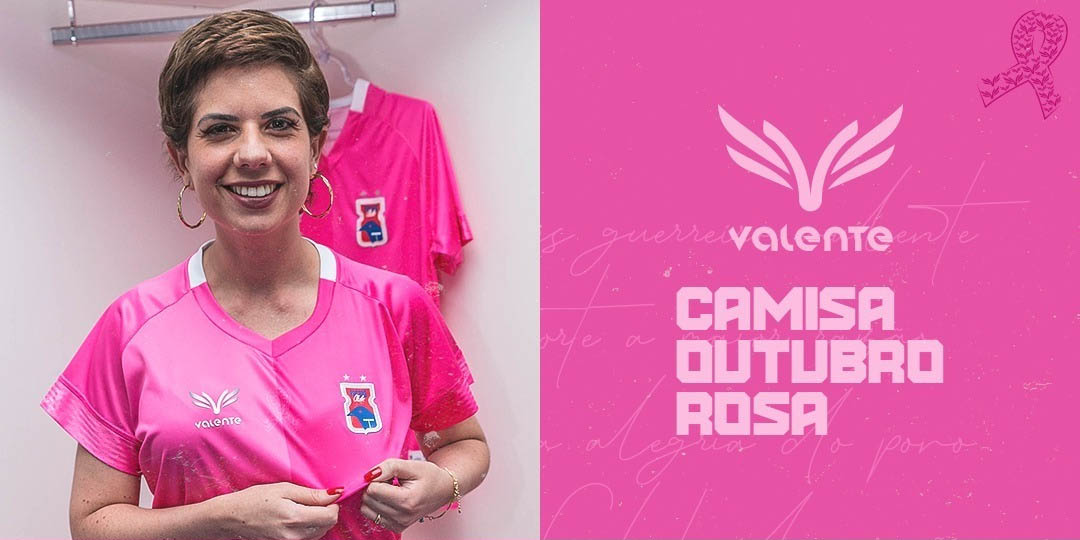 Camisa Outubro Rosa do Paraná Clube 2019-2020 Valente 4