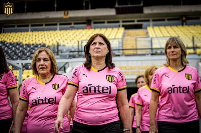Camisa Outubro Rosa do Peñarol 2019 PUMA