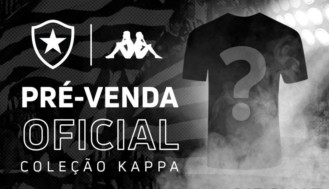 Camisa do Botafogo Kappa Pré-Venda