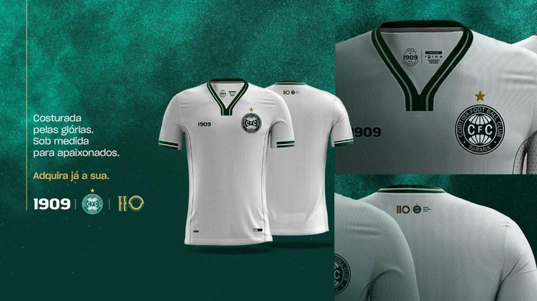 Camisa dos 110 anos do Coritiba 2019 1909 Sports abre