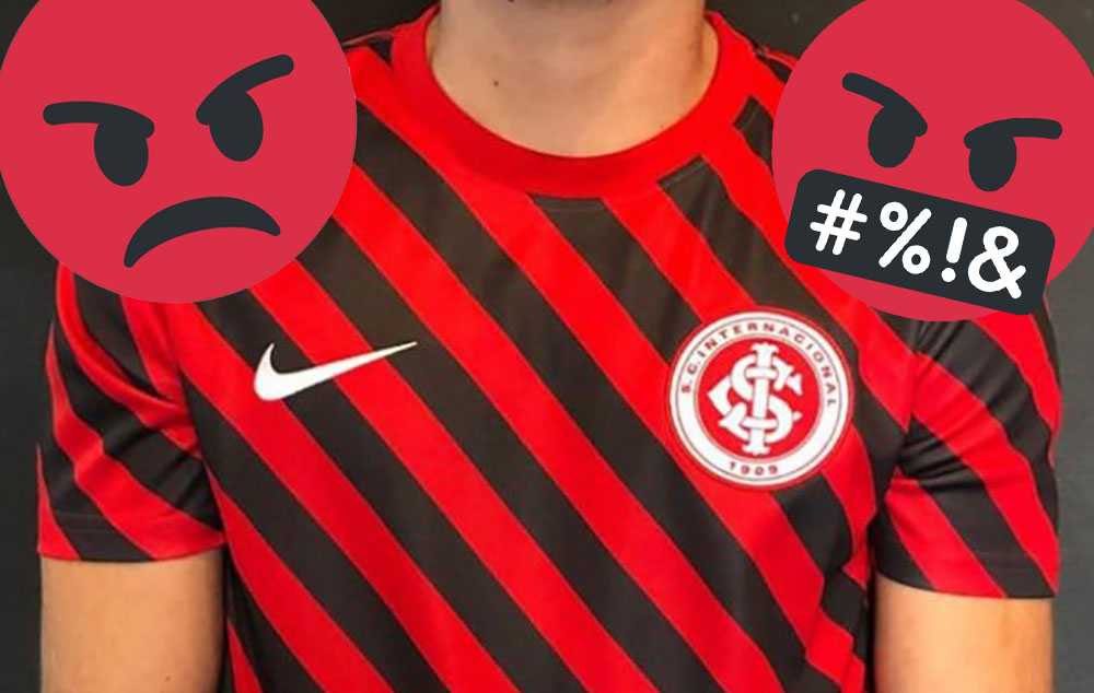 Camisa pré-jogo do Internacional 2019 Nike abre
