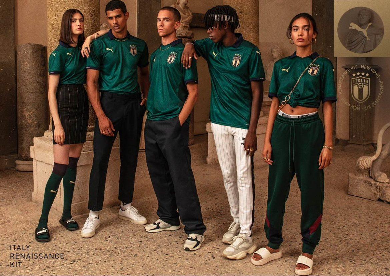 Camisa verde da Itália 2019-2020 PUMA
