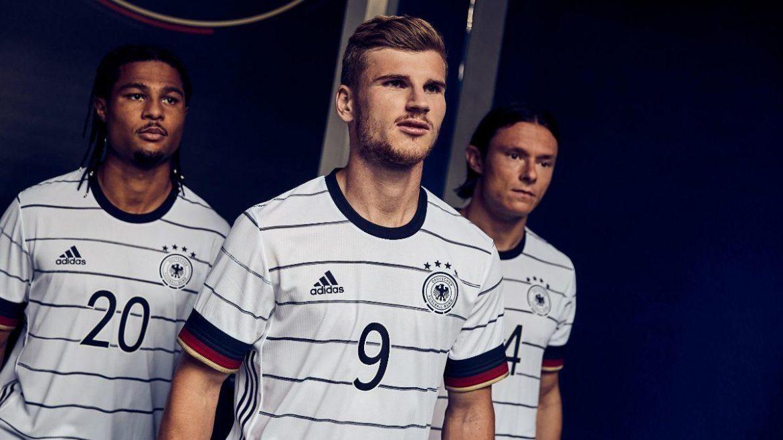 Camisas da Alemanha 2020-2021 Adidas abre
