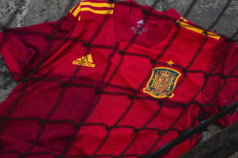Camisas da Espanha 2020-2021 Adidas 1