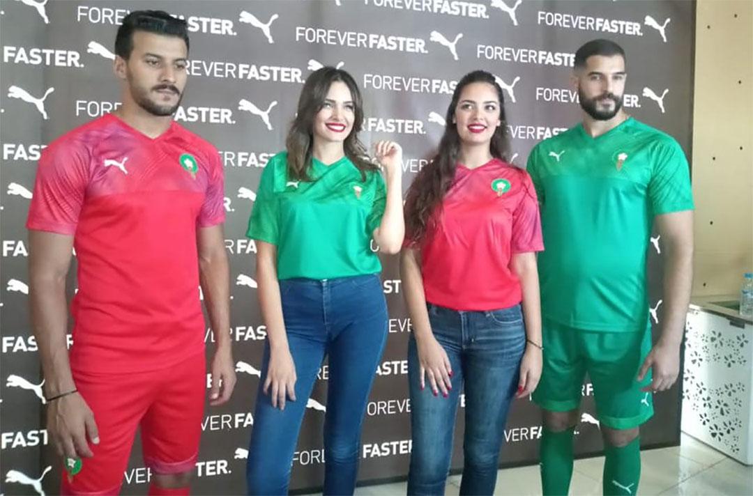 Camisas da Seleção do Marrocos 2019-2020 PUMA abre