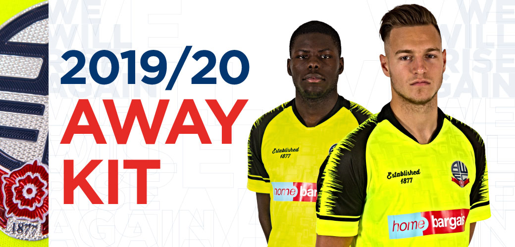Camisas do Bolton Wanderers 2019-2020 Established 1877