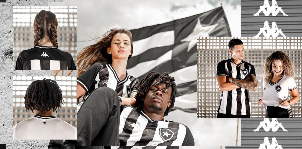 Camisas do Botafogo 2019-2020 Kappa