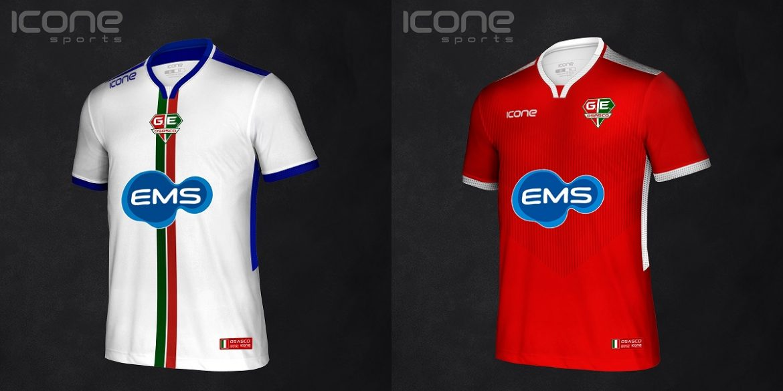 Camisas do Grêmio Osasco 2019-2020 Ícone Sports