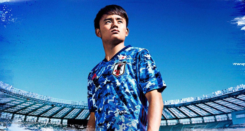 Camisas do Japão 2020-2021 Adidas abre