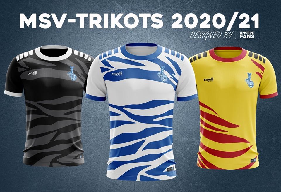 Camisas do MSV Duisburg 2020-2021 Capelli Sport
