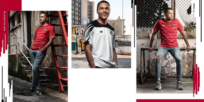 Camisas do Panamá 2019-2020 New Balance abre