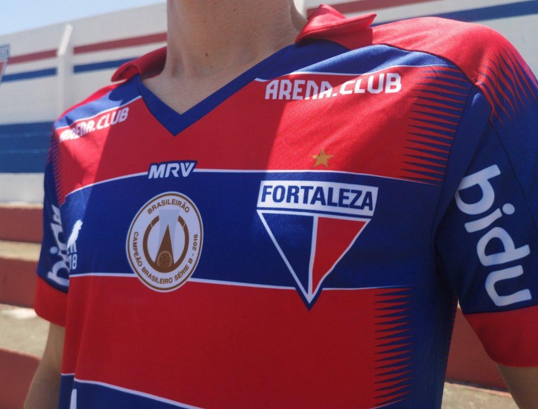 Camisas populares do Fortaleza EC 2019 Leão1918