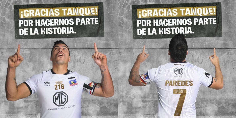 Colo Colo lança camisa especial para Esteban Paredes