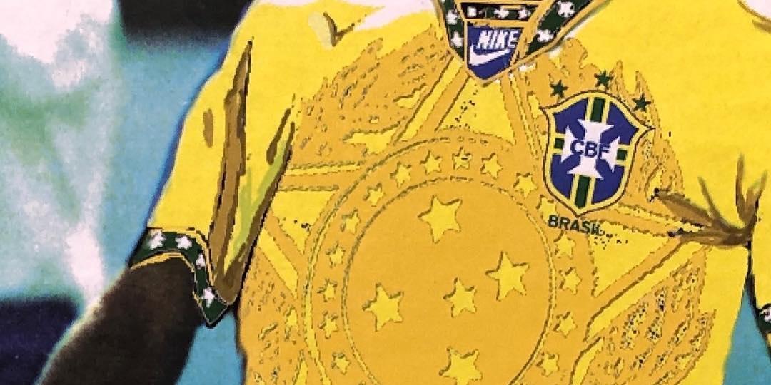 Como seria a camisa Nike da Seleção Brasileira pós Copa 94