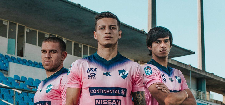 Camisa Outubro Rosa do Nacional do Paraguai 2019