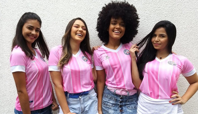 Camisa Outubro Rosa do Bahia 2019-2020 Esquadrão