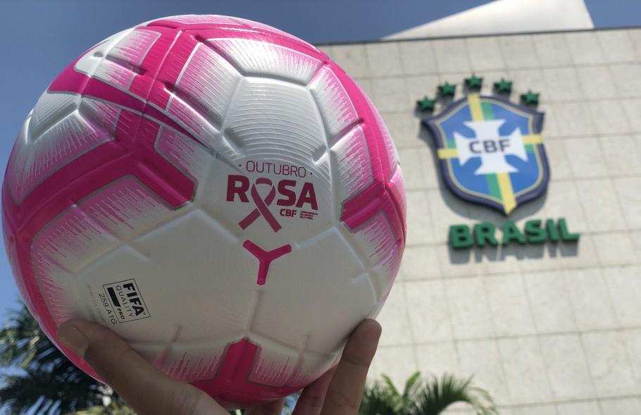 bola brasileirão outubro rosa 2019 abre