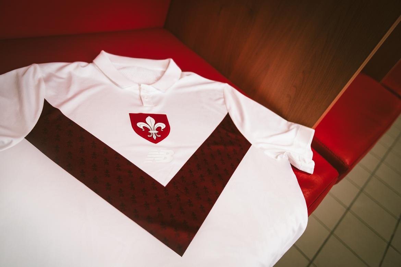 Camisa de 75 anos do Lille 2019
