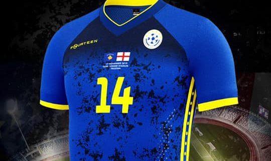 Camisa exclusiva do Kosovo 2019