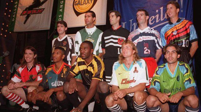 As exóticas primeiras camisas da MLS
