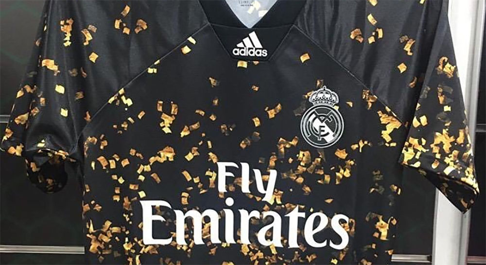 Camisa Adidas do Real Madrid Ano Novo Chinês 2020 abre