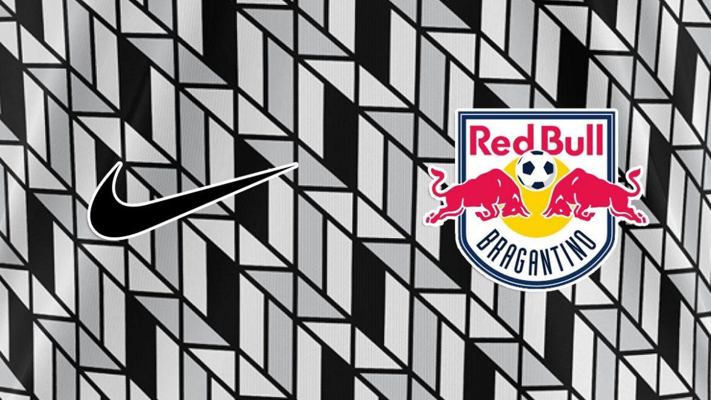 Camisa carijó Red Bull Bragantino 2020 Nike