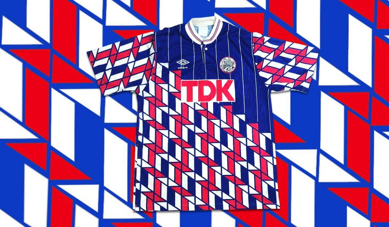 Camisa carijó Umbro Ajax 1989